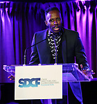 Raja Feather Kelly on stage during the Second Annual SDCF Awards, A celebration of Excellence in Directing and Choreography, at the Green Room 42 on November 11, 2018 in New York City.