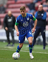 8th February 2020; DW Stadium, Wigan, Greater Manchester, Lancashire, England; English Championship Football, Wigan Athletic versus Preston North End; Michael Jacobs of Wigan Athletic runs with the ball