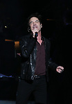 """Pat Monahan during the Broadway Opening Night Performance Curtain Call of  """"Rocktopia"""" at The Broadway Theatre on March 27, 2018 in New York City."""