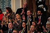 FEBRUARY 5, 2019 - WASHINGTON, DC:  Ivanka Trump, Lara Trump, Eric Trump, and Donald Trump, Jr. during the State of the Union address at the Capitol in Washington, DC on February 5, 2019. <br /> Credit: Doug Mills / Pool, via CNP