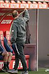 Alexander Raaf ist sauer auf die Bremer,<br /> <br /> GER, FC Heidenheim vs. Werder Bremen, Fussball, Bundesliga Religation, 2019/2020, 06.07.2020,<br /> <br /> DFB/DFL regulations prohibit any use of photographs as image sequences and/or quasi-video., <br /> <br /> <br /> Foto: EIBNER/Sascha Walther/Pool/gumzmedia/nordphoto