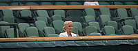 AMBIENCE - ROYAL BOX<br /> <br /> The Championships Wimbledon 2014 - The All England Lawn Tennis Club -  London - UK -  ATP - ITF - WTA-2014  - Grand Slam - Great Britain -  28th June 2014. <br /> <br /> &copy; AMN IMAGES
