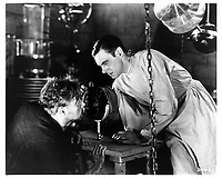 Frankenstein (1931) <br /> Colin Clive &amp; Dwight Frye<br /> *Filmstill - Editorial Use Only*<br /> CAP/KFS<br /> Image supplied by Capital Pictures