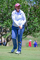 Angela Stanford (USA) watches her tee shot on 2 during round 4 of  the Volunteers of America Texas Shootout Presented by JTBC, at the Las Colinas Country Club in Irving, Texas, USA. 4/30/2017.<br /> Picture: Golffile | Ken Murray<br /> <br /> <br /> All photo usage must carry mandatory copyright credit (&copy; Golffile | Ken Murray)