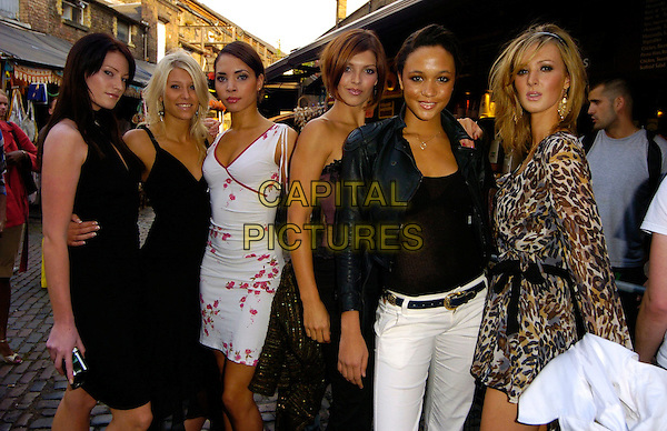 "LIVING TV'S ""BRITAIN'S NEXT TOP MODEL"" CONTESTANTS.Attend the 11th Annual MOBO Awards Nominations & Launch at Proud Camden, London, England, .August 15th 2006..half length 3/4 girls.Ref: CAN.www.capitalpictures.com.sales@capitalpictures.com.©Can Nguyen/Capital Pictures"