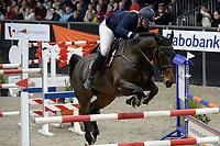 ZUIDBROEK - Paardensport, ICCH Zuidbroek, springen internationaal Grote Prijs , 05-01-2019, Aniek Diks met Fiarabo