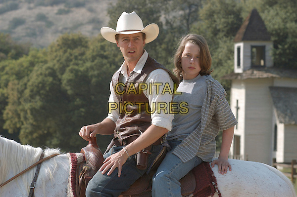 EDWARD NORTON & RORY CULKIN      .in Down In The Valley.*Editorial Use Only*.www.capitalpictures.com.sales@capitalpictures.com.Supplied by Capital Pictures.