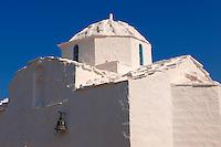 The Byzantine church of Ayios Nikolaos Moulos, Krypseli, Aegina, Greek Saronic Islands