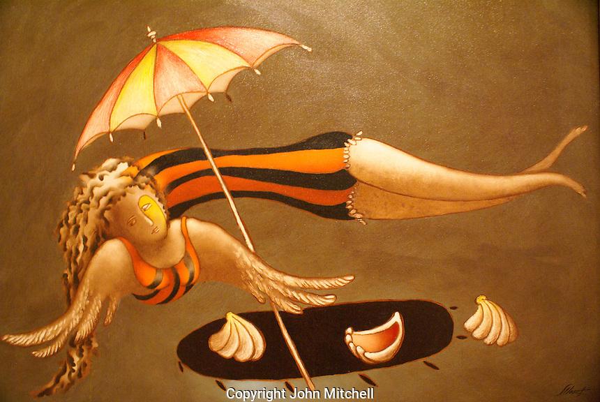 Instante Volátil 91994) by Salvador Llort, Museo de Arte de El Salvador (MARTE), San Salvador, El Salvador