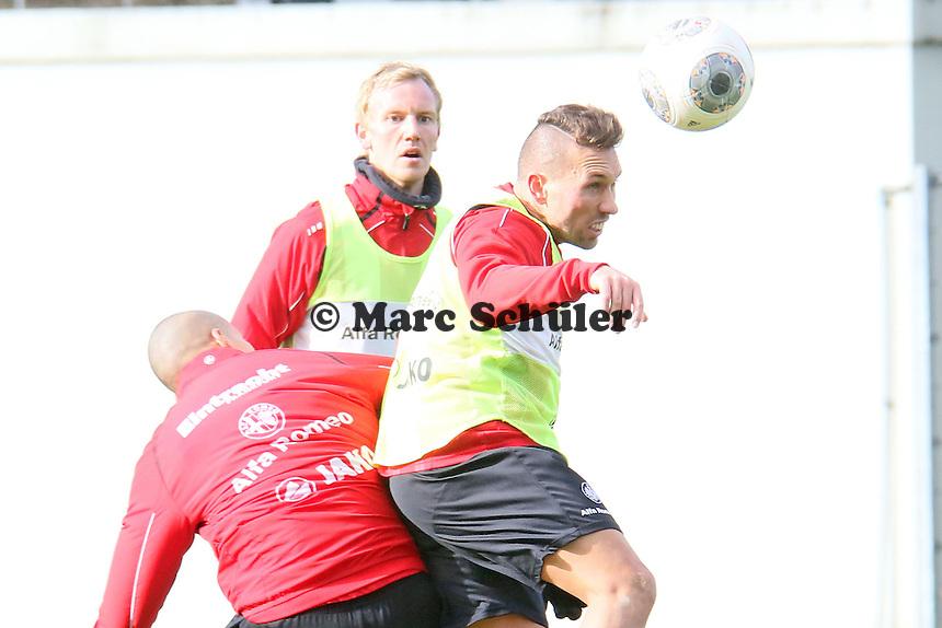 Kopfball Tobias Weis (Eintracht)