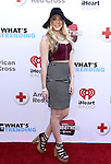 """BURBANK, CA - APRIL 20:  Musician Lovey James attends What's Trending's Fourth Annual Tubeathon Benefitting American Red Cross at iHeartRadio Theater on April 20, 2016 in Burbank, California.  (Photo by Vivien Killilea/Getty Images for iHeartMedia)"""