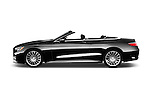 Car Driver side profile view of a 2017 Mercedes Benz S-Class S65-AMG 2 Door Convertible Side View