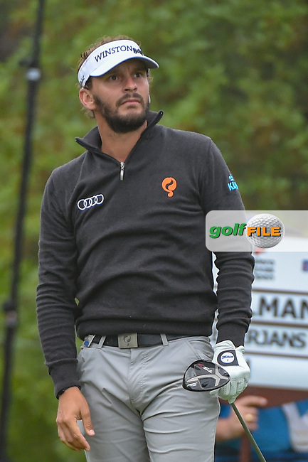 Joost Luiten (NLD) watches his tee shot on 1 during day 3 of the Valero Texas Open, at the TPC San Antonio Oaks Course, San Antonio, Texas, USA. 4/6/2019.<br /> Picture: Golffile | Ken Murray<br /> <br /> <br /> All photo usage must carry mandatory copyright credit (© Golffile | Ken Murray)