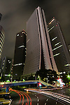Shinjuku Skyscrapers - Sompo Japan Head Office at night