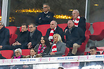 17.03.2019, Allianz Arena, Muenchen, GER, 1.FBL,  FC Bayern Muenchen vs. Mainz 05, DFL regulations prohibit any use of photographs as image sequences and/or quasi-video, im Bild  Uli Hoeness (Praesident FCB) Karl-Heinz Rummenigge (Vorstandsvorsitzender FCB) <br /> <br />  Foto &copy; nordphoto / Straubmeier