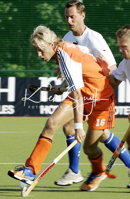 NLD-20050829-Leipzig-EK HOCKEY Nederland-Polen. Floris Evers.