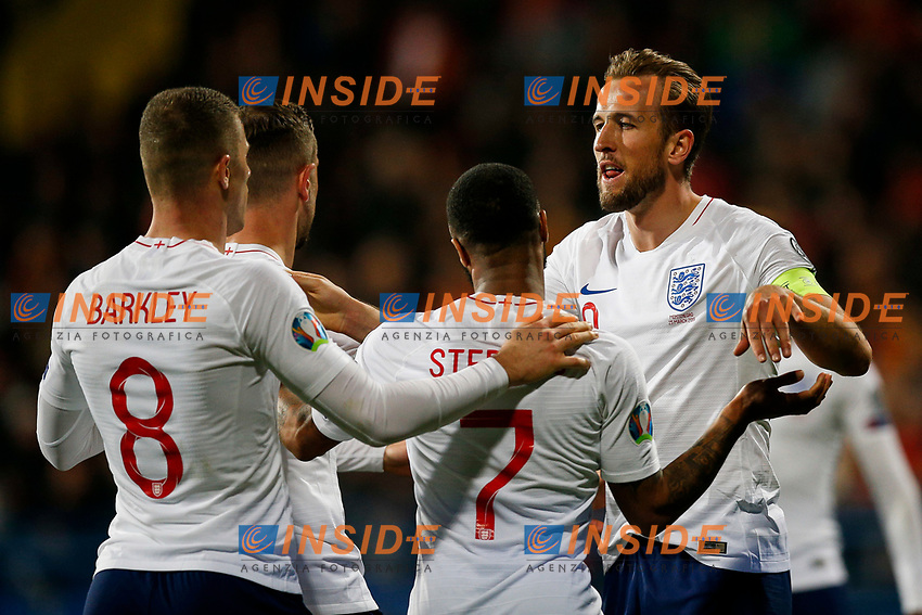 X  <br /> Podgorica 25-3-2019 <br /> Football Euro2020 Qualification Montenegro - England <br /> Foto Daniel Chesterton / PHC / Insidefoto <br /> ITALY ONLY