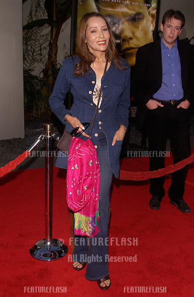 Actress BARBARA CARRERA at the world premiere, in Hollywood, of The Bourne Supremacy..July 15, 2004