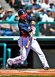 13 March 2010: Atlanta Braves' infielder Martin Prado in action during a Spring Training game against the Toronto Blue Jays at Champion Stadium in the ESPN Wide World of Sports Complex in Orlando, Florida. The Blue Jays shut out the Braves 3-0 in Grapefruit League action. Mandatory Credit: Ed Wolfstein Photo