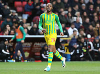 Romaine Sawyers of West Bromwich Albion during Charlton Athletic vs West Bromwich Albion, Sky Bet EFL Championship Football at The Valley on 11th January 2020