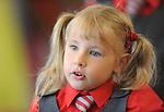 29-08-2013: Katren Saviecienko  enjoying her first day at Holy Cross National School, Killarney on Thursday. Picture: Eamonn Keogh (MacMonagle, Killarney)