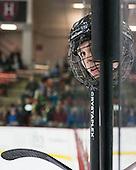 Kyle Rankin (Princeton - 19) - The Harvard University Crimson defeated the Princeton University Tigers 3-2 on Friday, January 31, 2014, at the Bright-Landry Hockey Center in Cambridge, Massachusetts.