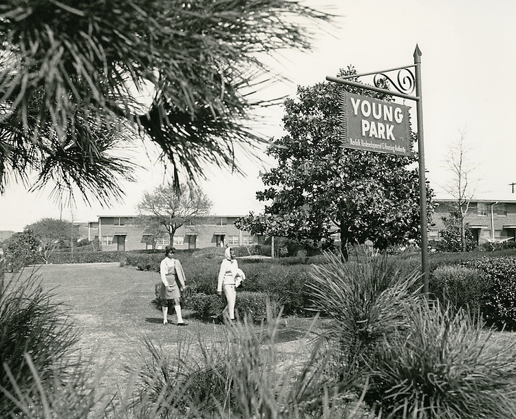 1966 March..Redevelopment.Project#1 (UR1-1)..Young Park Housing..Neal Clark Jr..NEG#.NRHA# 2068..
