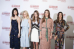 Models Ana Arto, Katty Trost, Alisa Nekrasova, Bet Alastuey and Marta Aguilar attend 2016 Glamour Belleza Awards en Madrid, Spain. February 04, 2016. (ALTERPHOTOS/Victor Blanco)