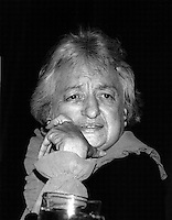 Betty Friedan feminist activist and author of the Feminine Mystique published in 1963 and credited with inspiring 2nd wave feminism, Co- founder and President of the National Organization of Women,  Boston MA 5.1.87