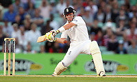 Ian Bell of England in batting action - England vs Australia - 5th day of the 5th Investec Ashes Test match at The Kia Oval, London - 25/08/13 - MANDATORY CREDIT: Rob Newell/TGSPHOTO - Self billing applies where appropriate - 0845 094 6026 - contact@tgsphoto.co.uk - NO UNPAID USE