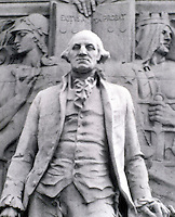 ACID RAIN DAMAGE TO STATUE OF WASHINGTON (1 of 2)<br />