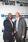 "Rhythm & Blues Foundation, Inc. Board Chairman Damon Williams and Ted Reid at The Rhythm and Blues Foundation in honor of Black Music Month presents ""Soul of the 90s: An R&B Tribute"" Honoring Intro, Allure and Michael Bivins @ The Attic Rooftop Lounge"