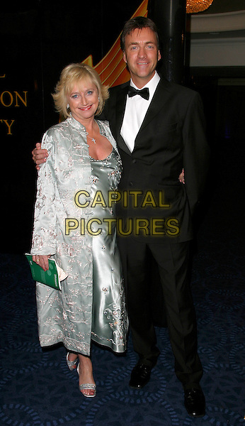 JUDY FINNIGAN & RICHARD MADLEY.RTS Awards, Grosvenor House, London..16th March 2004..full length madely married husband wife.Ref: BR.www.capitalpictures.com.sales@capitalpictures.com.©Capital Pictures.