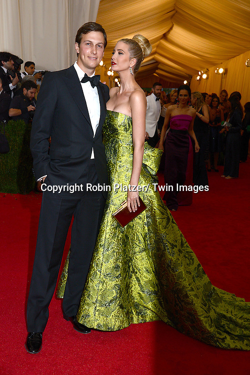 Jared Kushner and Ivanka Trump attend the Costume Institute Benefit on May 5, 2014 at the Metropolitan Museum of Art in New York City, NY, USA. The gala celebrated the opening of Charles James: Beyond Fashion and the new Anna Wintour Costume Center.