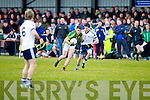 Kerry's Stephen O'Brien gets away from IT Tralee's Sean T Dillon in the McGrath cup at John Mitchels on Sunday.