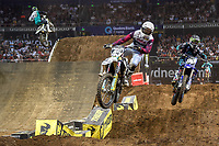 SX 2 / Hayden Mellross<br /> 2018 SX Open - Sydney <br /> Australian Supercross Championships<br /> Qudos Bank Area / Sydney Aus<br /> Saturday Nov 10th 2018<br /> &copy; Sport the library/ Jeff Crow / AME