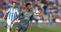 Leicester City's Demarai Gray <br /> <br /> Photographer Stephen White/CameraSport<br /> <br /> The Premier League - Huddersfield Town v Leicester City - Saturday 6th April 2019 - John Smith's Stadium - Huddersfield<br /> <br /> World Copyright © 2019 CameraSport. All rights reserved. 43 Linden Ave. Countesthorpe. Leicester. England. LE8 5PG - Tel: +44 (0) 116 277 4147 - admin@camerasport.com - www.camerasport.com