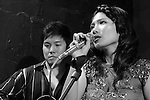 DC Stage, Kaohsiung -- Guest vocalist Lien Hsiao-Yun singing a chanson.
