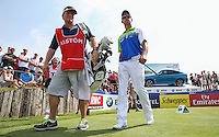 Caddie John Rawlings buzzing as Jaco Van Zyl (RSA) heads to a score of 64 (-10) during Round Three of the 2015 Alstom Open de France, played at Le Golf National, Saint-Quentin-En-Yvelines, Paris, France. /04/07/2015/. Picture: Golffile | David Lloyd<br /> <br /> All photos usage must carry mandatory copyright credit (© Golffile | David Lloyd)