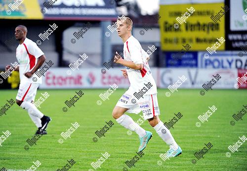 2015-08-26 / Voetbal / Seizoen 2015-2016 / Hoogstraten VV / Bjorn Beyens<br /><br />Foto: Mpics.be