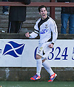East Fife's Liam Buchanan (19) celebrates after he scores their goal.<br /> <br /> <br /> 15/02/2014   jspa008_smuir_v_efife     <br /> Copyright  Pic : James Stewart   <br /> <br /> James Stewart Photography 19 Carronlea Drive, Falkirk. FK2 8DN      Vat Reg No. 607 6932 25   Tel:  +44 (0)7721 416997<br /> E-mail  :  jim@jspa.co.uk   If you require further information then contact Jim Stewart on any of the numbers above........