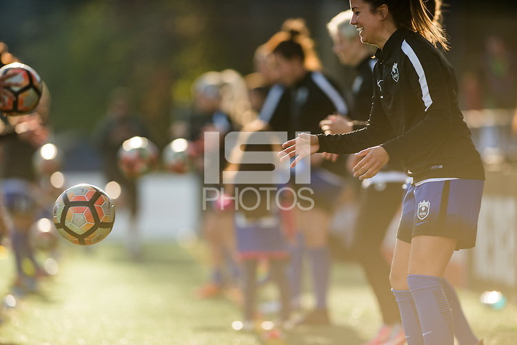 Seattle, WA - April 15th, 2017: Lauren Barnes during a regular season National Women's Soccer League (NWSL) match between the Seattle Reign FC and Sky Blue FC at Memorial Stadium.