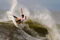 Alejo Munez (BRA) competes in Round 3 of the 2011 Quiksilver Pro New York in Long Beach, NY.