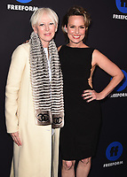 HOLLYWOOD, CA - JANUARY 18:  Joanna Coles and Melora Hardin at the Freeform Summit at NeueHouse on January 18, 2018 in Hollywood, California. (Photo by Scott Kirkland/PictureGroup)