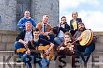 Locals are delighted that there's been a huge revival in Trad music in Listowel. Pictured were: Daniel Costello, Kerrie Costello, Sean Costello (Saddle Bar), Eugene Moriarty (Chair of Listowel Ceoltas), Matt Dean, John O'Grady (Star and Garter Bar), Anthony McElhinney (New Kingdom Bar) and Louise Stack (Star and Garter Bar).