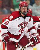 Alex Fallstrom (Harvard - 16) - The Harvard University Crimson defeated the visiting Rensselaer Polytechnic Institute Engineers 4-0 (EN) on Saturday, November 10, 2012, at Bright Hockey Center in Boston, Massachusetts.
