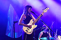 LONDON, ENGLAND - AUGUST 9: Stealing Sheep performing at Nile Rodgers' Meltdown at Queen Elizabeth Hall on August 9, 2019 in London, England.<br /> CAP/MAR<br /> ©MAR/Capital Pictures