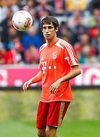 Football: Germany, 1. Bundesliga, FC Bayern Muenchen (FCB).Javi MARTINEZ.?Ǭ© pixathlon