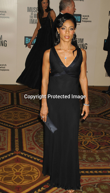 Jada Pinkett Smith..at The Museum of The Moving Image salute to Will Smith ..at The Waldorf Astoria Hotel in New York on December 3, 2006...Robin Platzer, Twin Images