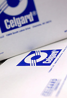 Photography of high-tech manufacturing operations at Celgard LLC, a producer of specialty microporous membranes and other products for the lithium battery separator industry. Celgard separators are used in lithium-ion batteries for such consumer electronic devices as notebook computers, mobile phones, and digital camera, as well as commercial applications in power tools, grid management systems and electric drive vehicles. In 2010, president Barack Obama toured Celgard's Charlotte, NC, facilities.